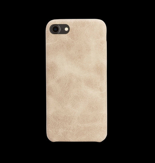 Beige Leather Case - iPhone 7