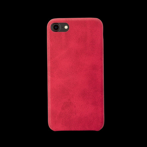 Red Leather Case - iPhone 8