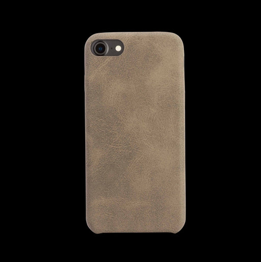Brown Leather Case - iPhone 8