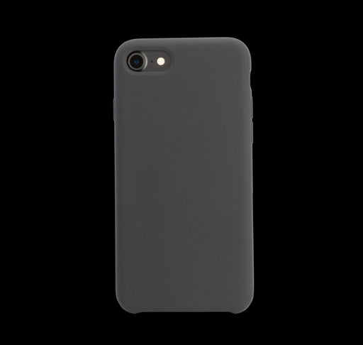 Black Silicon Case - iPhone 7