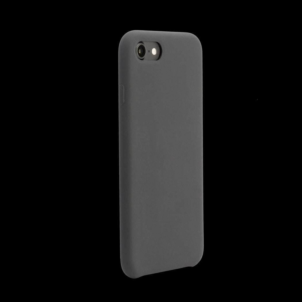 Black Silicon Case - iPhone 8