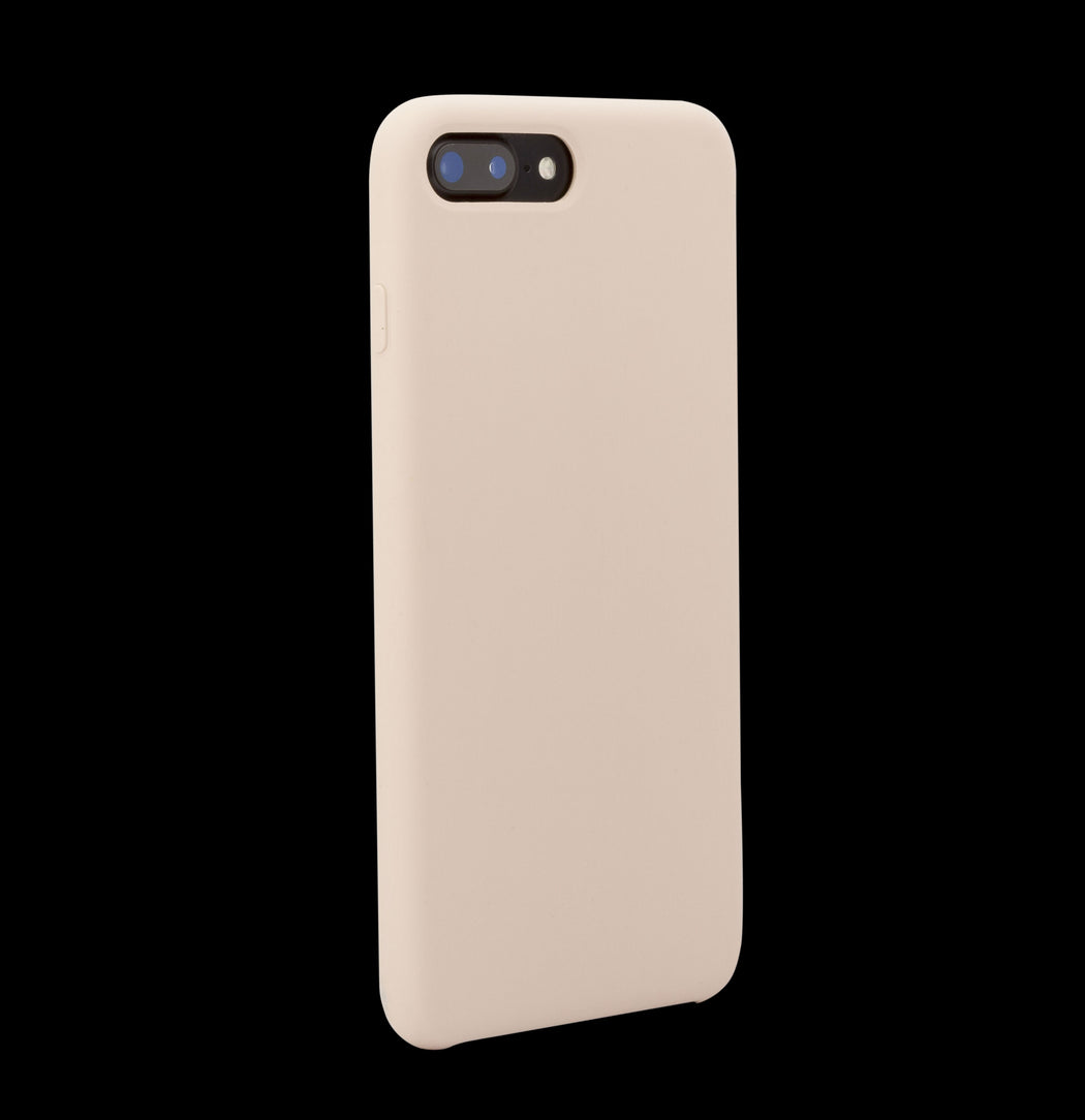 Pink Silicon Case - iPhone 8 Plus
