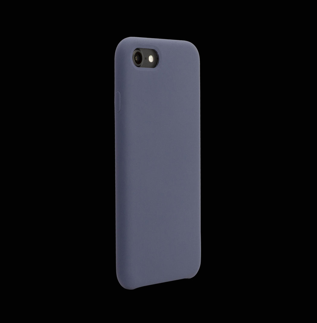 Navy Silicon Case - iPhone 8