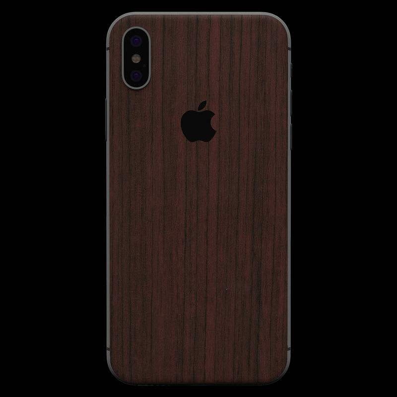 Padauk Wood Skin - iPhone  XS
