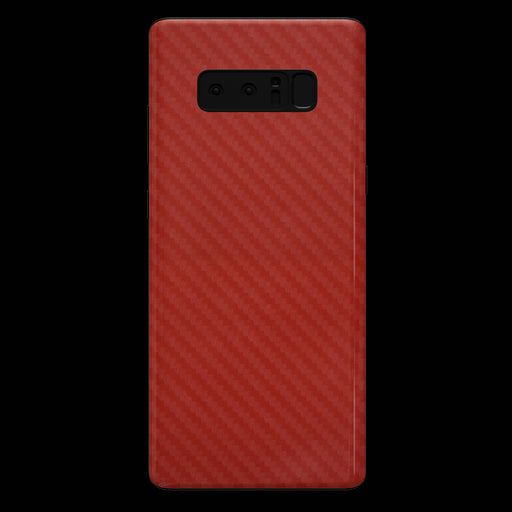 Red Carbon Fiber Skin - Note 8