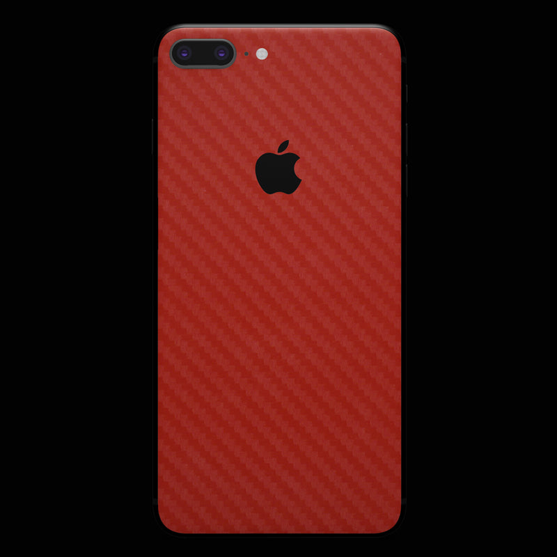 Red Carbon Fiber - iPhone 8 Plus