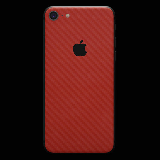 Red Carbon Fiber - iPhone 8
