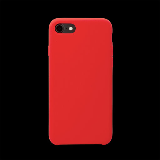Red Silicon Case - iPhone 8