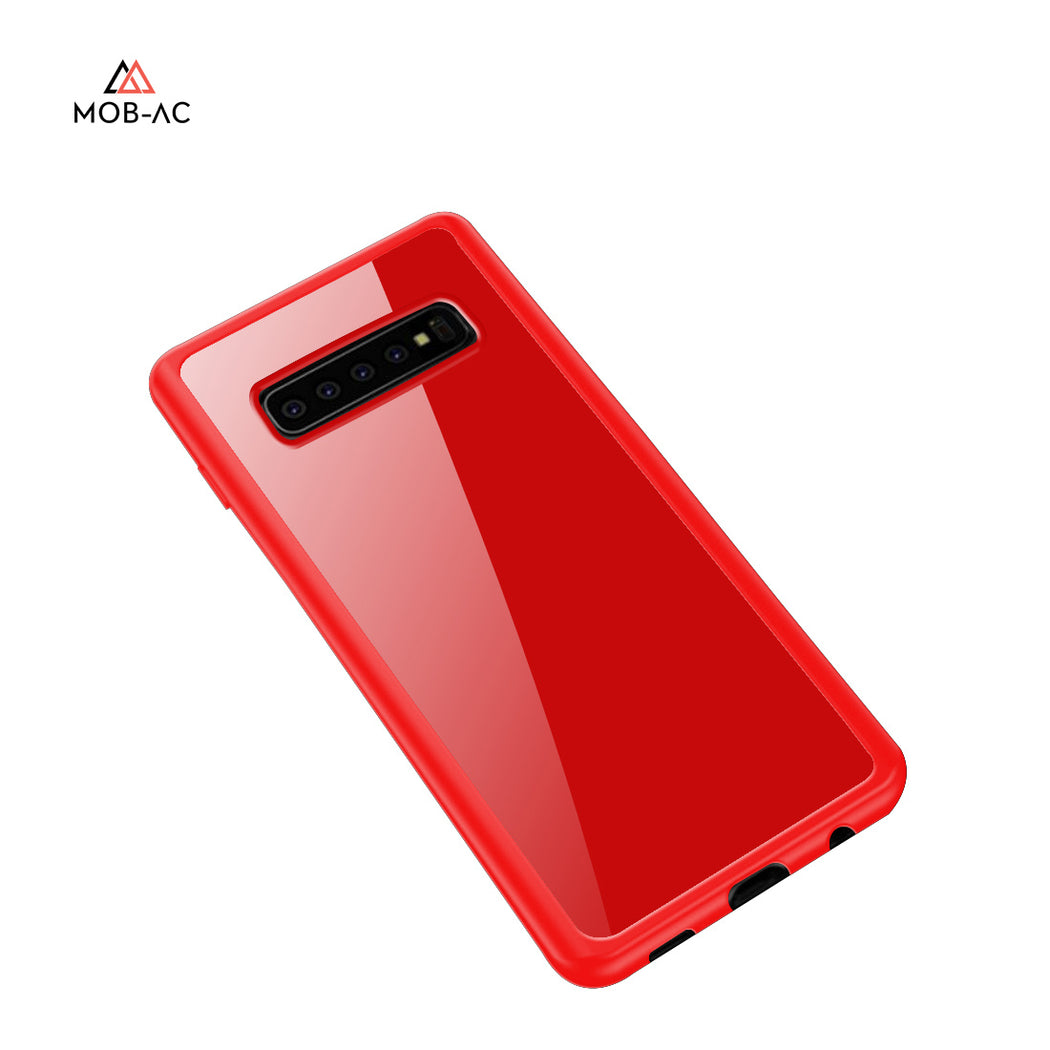 MOB-AC MIRROR FINISH CASE (SOFT CASE)- Samsung S10