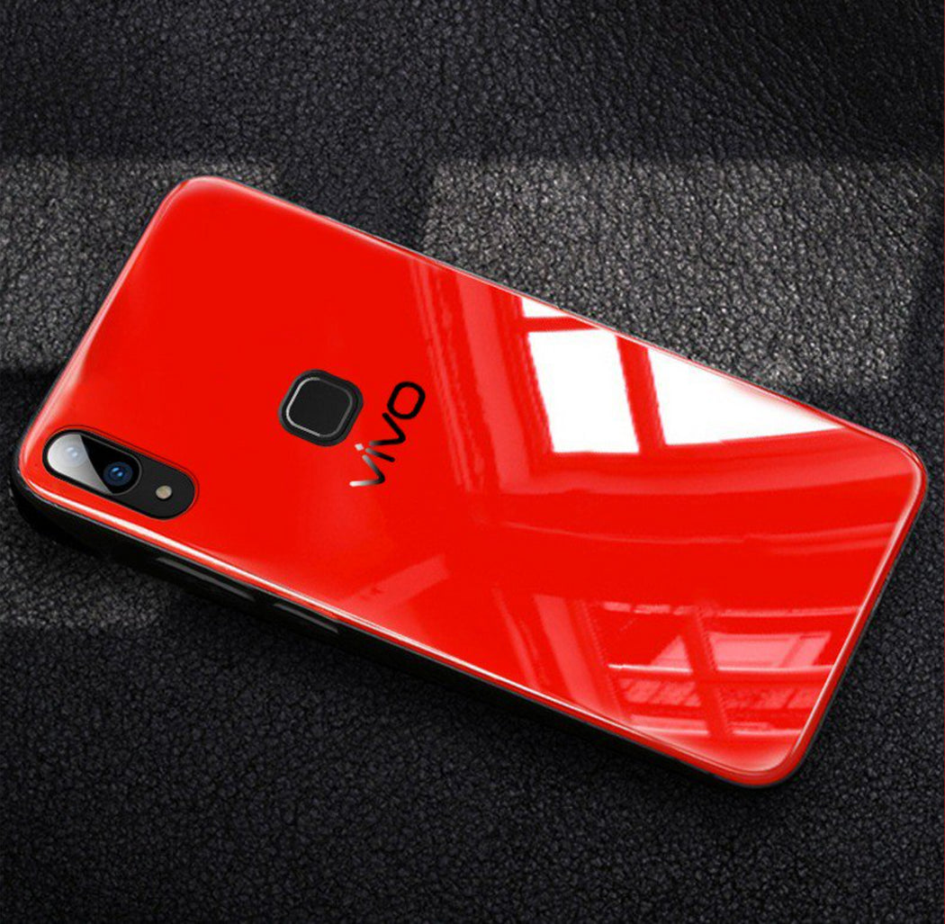 Glass Back Case- VIVO V9