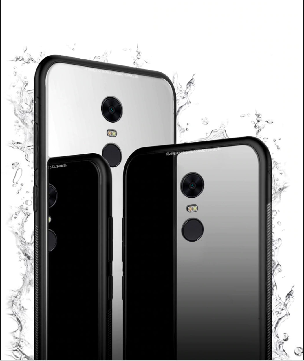 Glass Back Case- XIAOMI REDMI NOTE 5