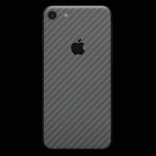 Silver Carbon Fiber - iPhone 8