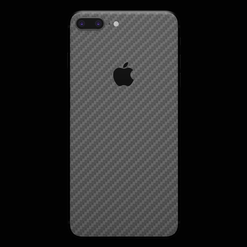 Silver Carbon Fiber - iPhone 8 Plus