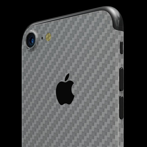 Silver Carbon Fiber - iPhone 7