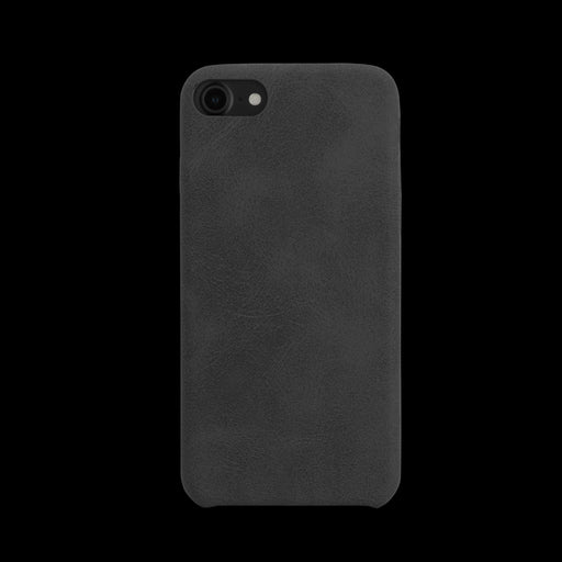 Black Leather Case - iPhone 8