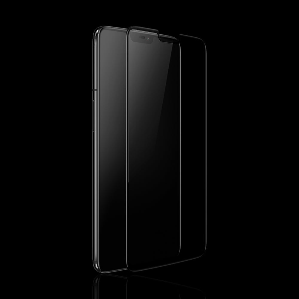 3D Curved Tempered Glass for Oneplus 6 (Black)