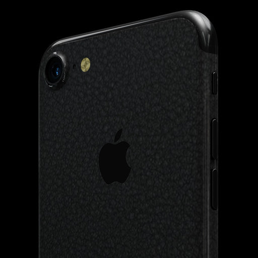 Black Leather Skin - iPhone 7