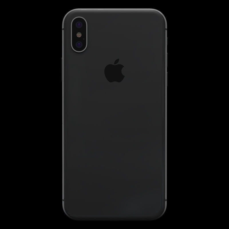 Matt Black Skin - iPhone X