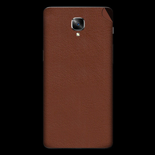 Brown Leather Skin - OnePlus 3T