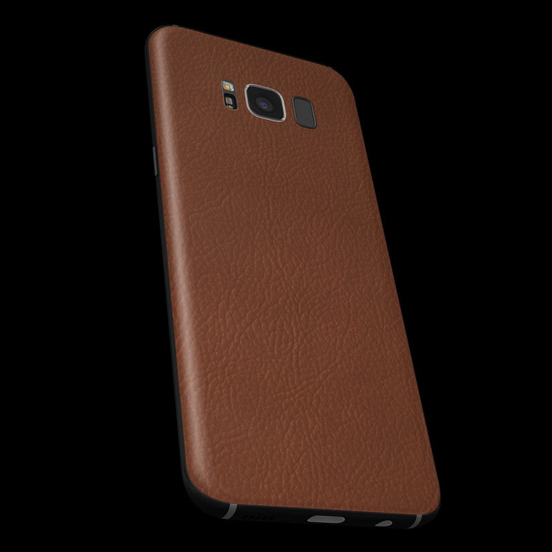 Brown Leather Skin - Samsung S8/ S8+