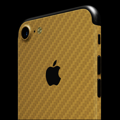 Gold Carbon Fiber - iPhone 7