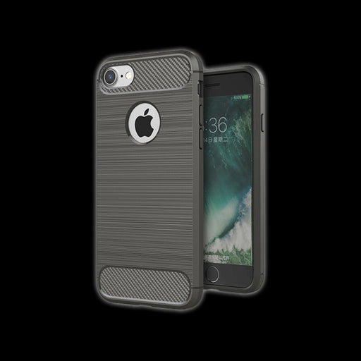 Soft Case for iPhone 7  (Grey)