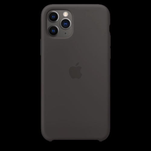 Coal Black Silicon Case - iPhone 11 Pro
