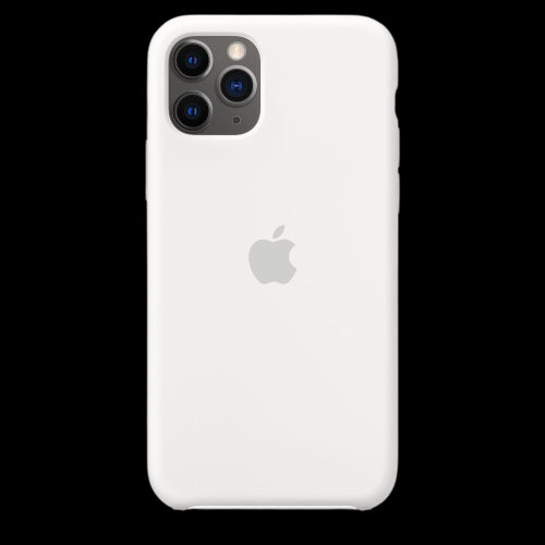 Pearl White Silicon Case - iPhone 11 Pro Max