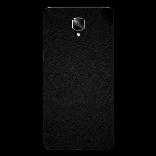 Black Leather Skin - OnePlus 3