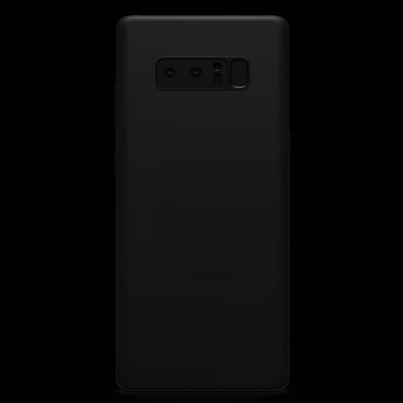 Matt Black Skin - Note 8