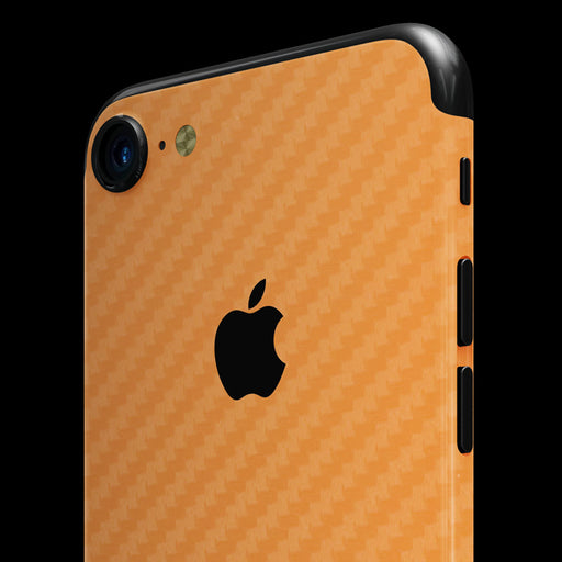Orange Carbon Fiber Skin - iPhone 7