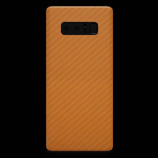 Orange Carbon Fiber Skin - Note 8