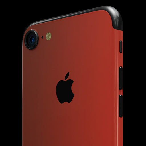 Red Satin Skin - iPhone 7
