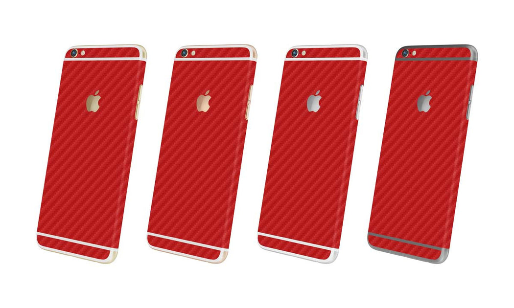 Red Carbon Fiber - iPhone