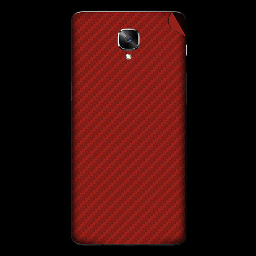 Red Carbon Fiber Skin - OnePlus 3