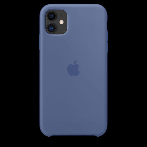 Midnight Blue Silicon Case - iPhone 11