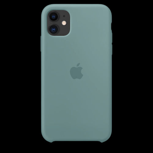 Garden Green Silicon Case - iPhone 11