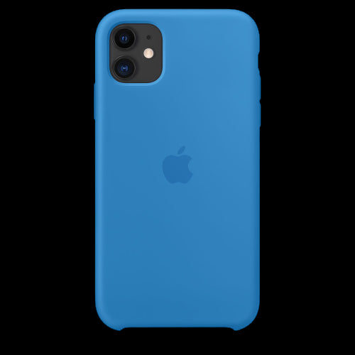 Ocean Blue Silicon Case - iPhone 11
