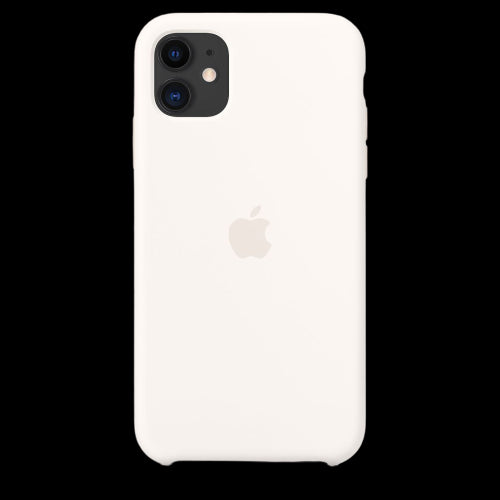 Pearl White Silicon Case - iPhone 11