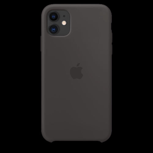 Coal Black Silicon Case - iPhone 11