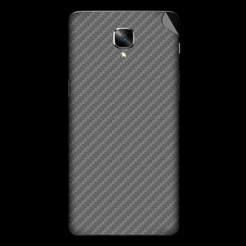 Silver Carbon Fiber Skin - OnePlus 3T