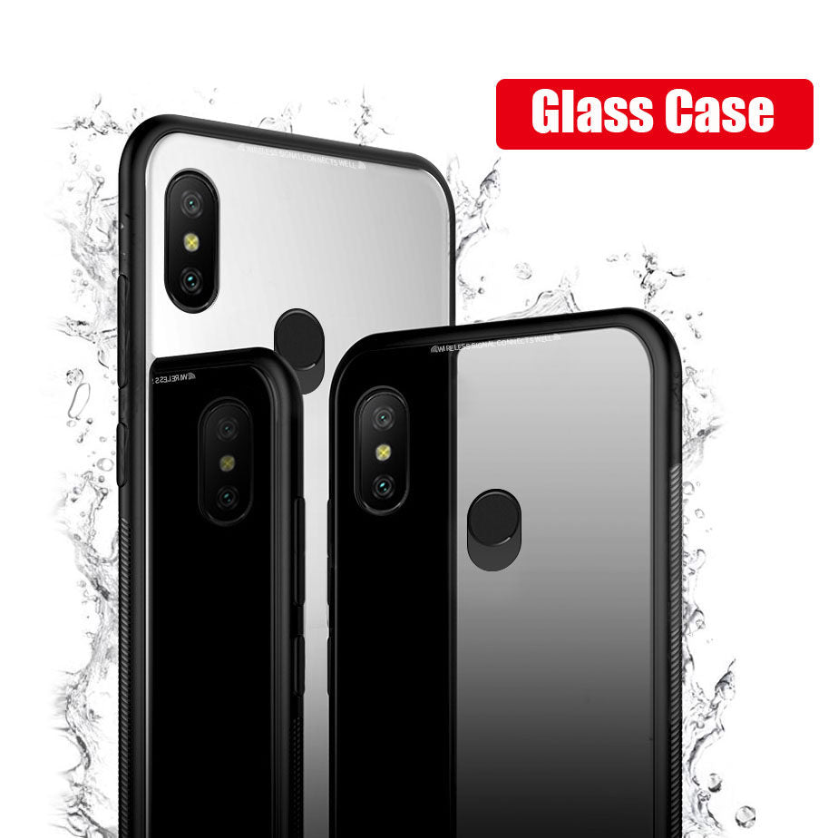Glass Back Case- XIAOMI REDMI 6 PRO