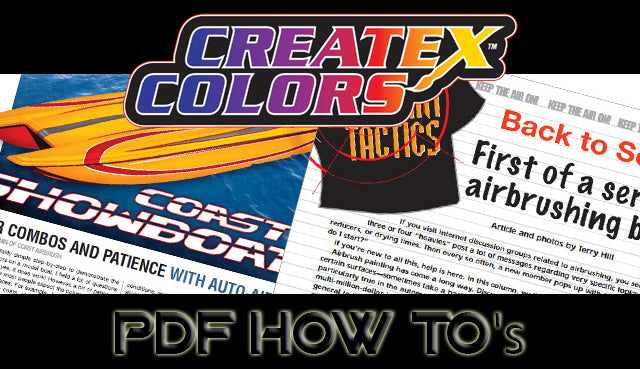 Createx How to PDFs