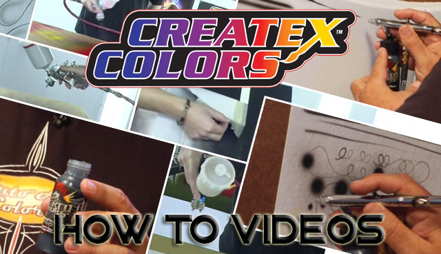 How to Airbrush Videos at Auto-Air Colors