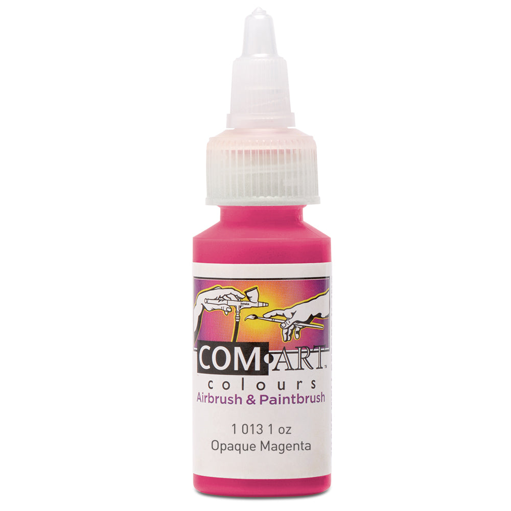 Com Art Colours Acrylic Opaque Magenta 1 oz