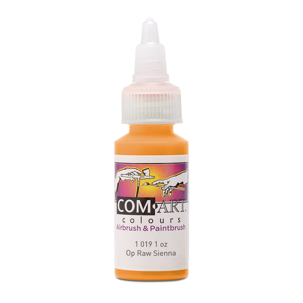 Com Art Colours Acrylic Opaque Raw Sienna 1 oz