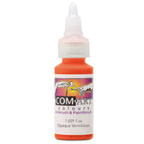 Com Art Colours Acrylic Opaque Vermillion 1 oz
