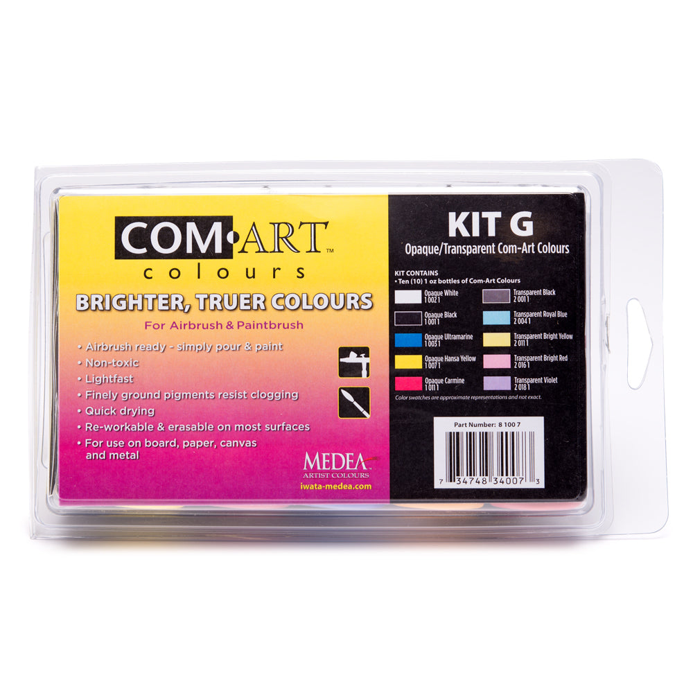 Com Art Colours Opaque/Transparent Kit G