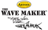 "Artool #8 The Wave Maker Freehand Airbrush Template by Mark ""The Shark"" Rush"