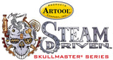Artool Steam Driven Tick Tock Freehand Airbrush Template by Craig Fraser